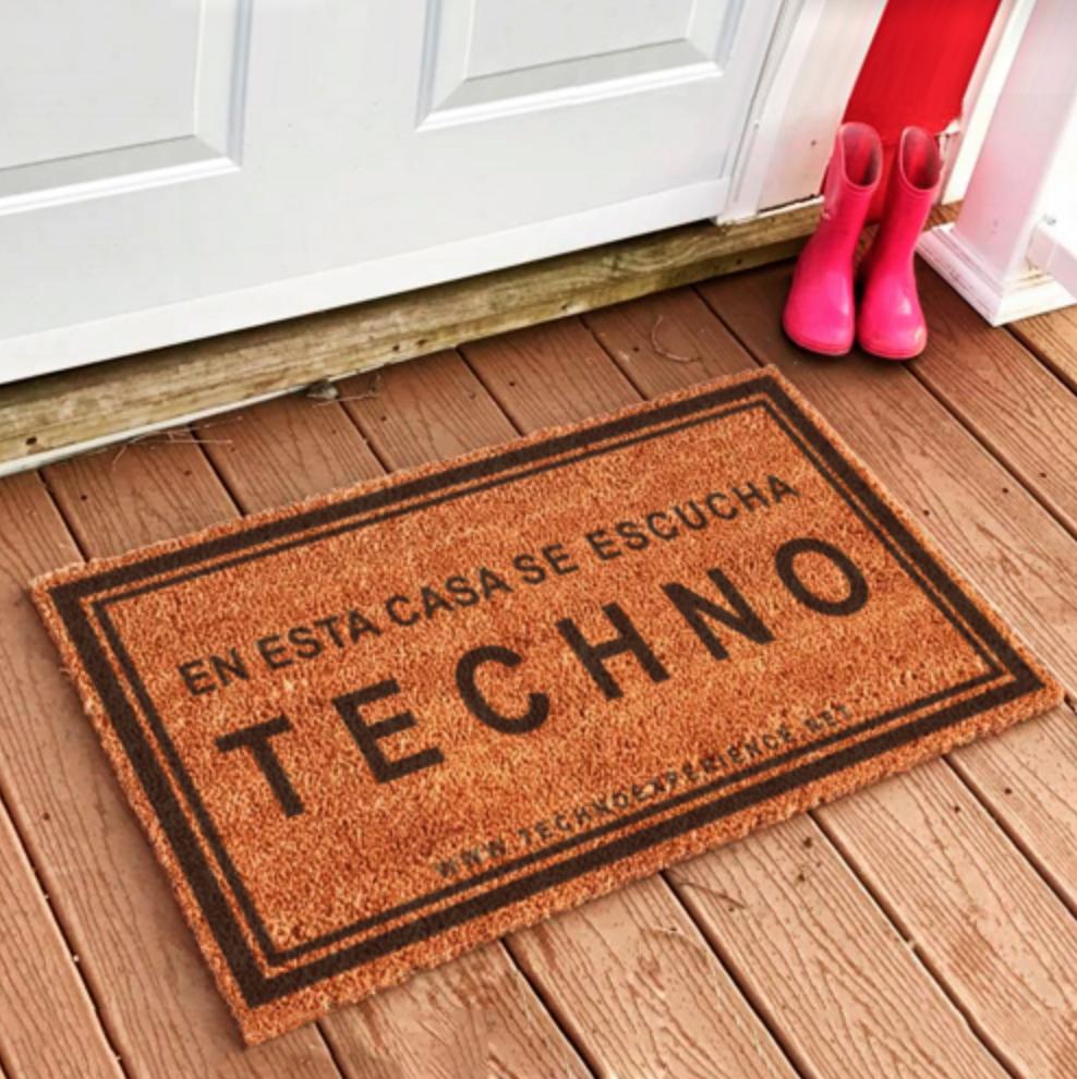 Felpudo Techno